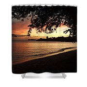 Secret Sunset Shower Curtain