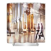 Secrets Of The Hermitage. Shower Curtain