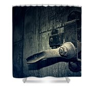 Secrets Within Shower Curtain by Trish Mistric