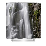Section Of The Falls Shower Curtain