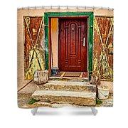 Secure Entrance Shower Curtain
