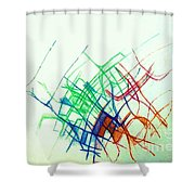 Securely Stepping Forward 1 Shower Curtain