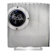 Security Camera Shower Curtain