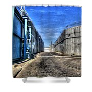 Security Wall Shower Curtain
