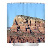 Sedona  Arizona  Mountain  Three Shower Curtain