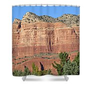 Sedona  Arizona  Mountain  Two Shower Curtain