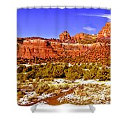 Sedona Arizona Secret Mountain Wilderness Shower Curtain