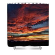 Sedona Az Sunset 1 Shower Curtain