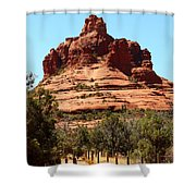 Sedona Bell Rock Shower Curtain
