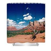 Sedona Desert Scene Shower Curtain