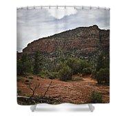 Sedona Landscape No. 2 Shower Curtain by David Gordon