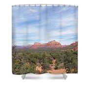 Sedona Love Shower Curtain