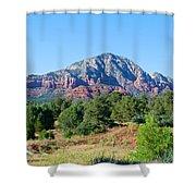 Sedona Mountains 15 Shower Curtain