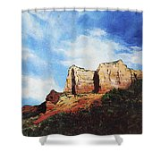 Sedona Mountains Shower Curtain