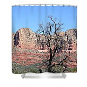 Sedona Red Rocks Shower Curtain