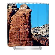 Sedona Rock Formation 030515a Shower Curtain
