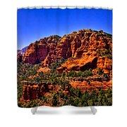 Sedona Rock Formations IIi Shower Curtain