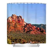 Sedona Rocky Cathedral Shower Curtain