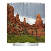 Sedona Sandstone Shower Curtain