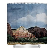 Sedona Storm Shower Curtain