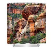 Sedona Stripes Shower Curtain