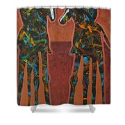 Sedona Sundown Shower Curtain