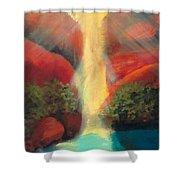 Sedona Sunrise Shower Curtain by Keith Thue
