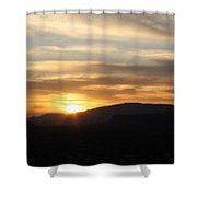 Sedona Sunset May 27 2013 B Shower Curtain