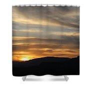 Sedona Sunset May 27 2013 G Shower Curtain