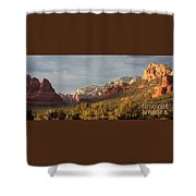 Sedona Sunshine Panorama Shower Curtain