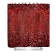 Seductive Embrace- Marsala Art Shower Curtain