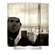 See New York City Usa Shower Curtain