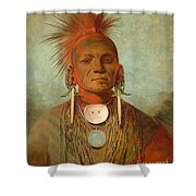 See Non Ty A An Iowa Medicine Man Shower Curtain