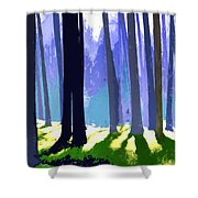 See The Forest For The Trees Shower Curtain