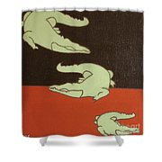 See You Later Alligator... Shower Curtain