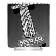 Seed Company Sign 1.1 Shower Curtain
