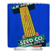 Seed Company Sign 1.3 Shower Curtain