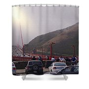 Seeing The Golden Gate Shower Curtain