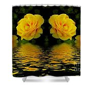 Seeing Yellow 2 Shower Curtain