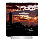 Seek The Lord Shower Curtain