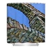 Segovia Aqueduct Arch By Diana Sainz Shower Curtain