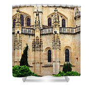 Segovia Cathedral Shower Curtain