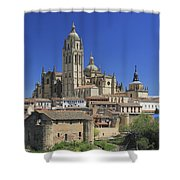 Segovia Spain Shower Curtain