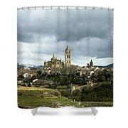 Segovia Surrounded Shower Curtain