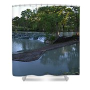 Seguin Tx 01 Shower Curtain by Shawn Marlow
