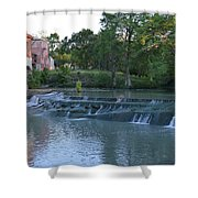 Seguin Tx 02 Shower Curtain by Shawn Marlow
