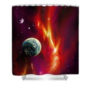 Seleamov Shower Curtain by James Christopher Hill