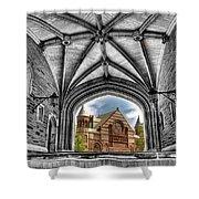 selective colors Princeton University Shower Curtain