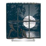 Selene Shower Curtain