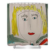 Self I See October 12 Shower Curtain